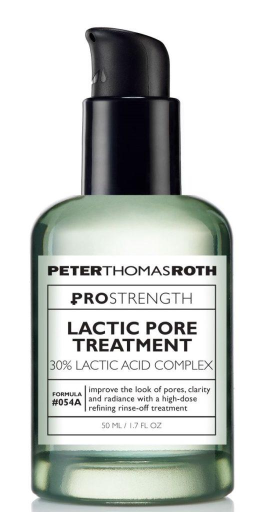 skincare product lactic pore treatment