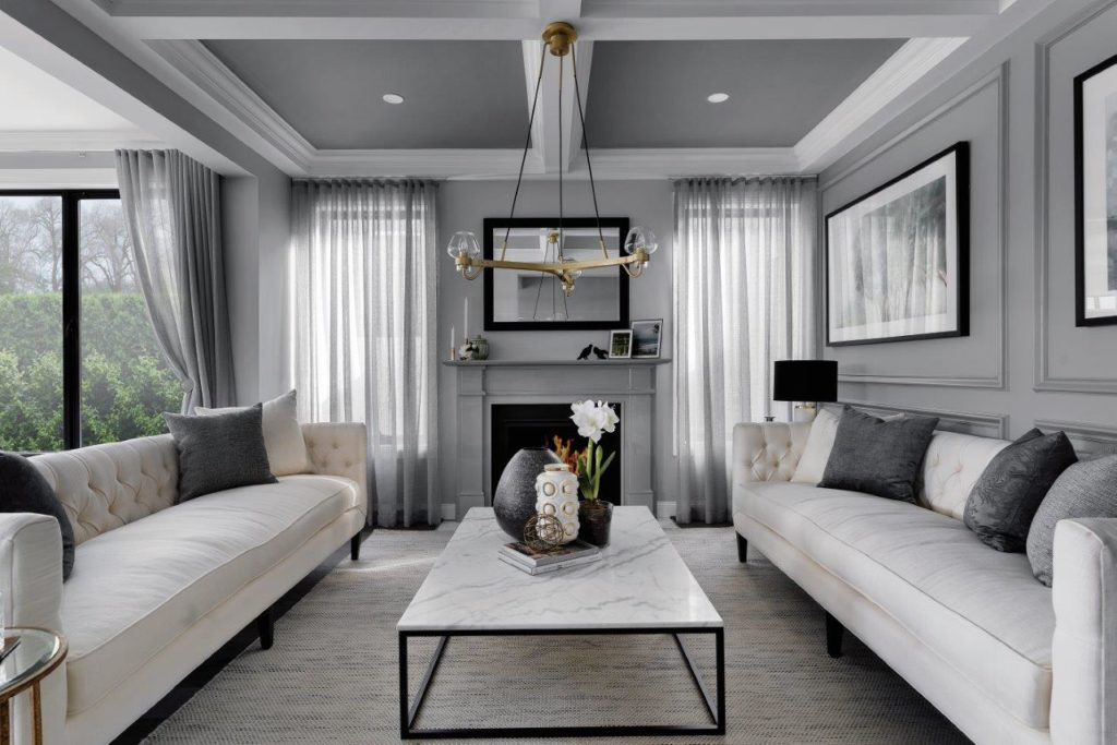 home design style of a lounge room