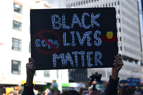 Research from the Australian National University has shown 75 per cent of Australians hold bias toward Indigenous Australians, with the ACT slightly below the national average. Black Lives Matter protest