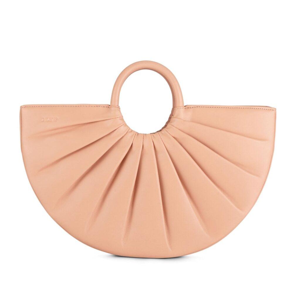 Pleated bender bag
