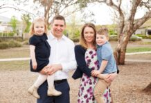 Alistair Coe ACT Election Canberra Liberals family