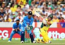Australia v India Manuka Oval 2016