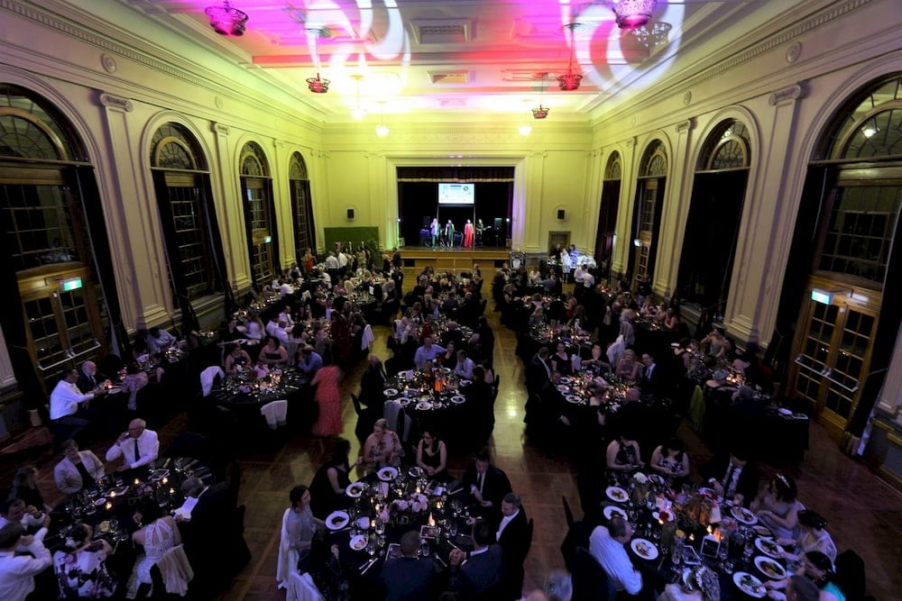The annual ball is a key fundraising event for the local charity
