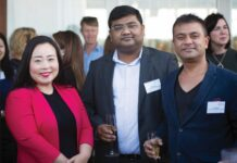 Elizabeth Lee MLA, Rakesh Roy, Sandi Mitra