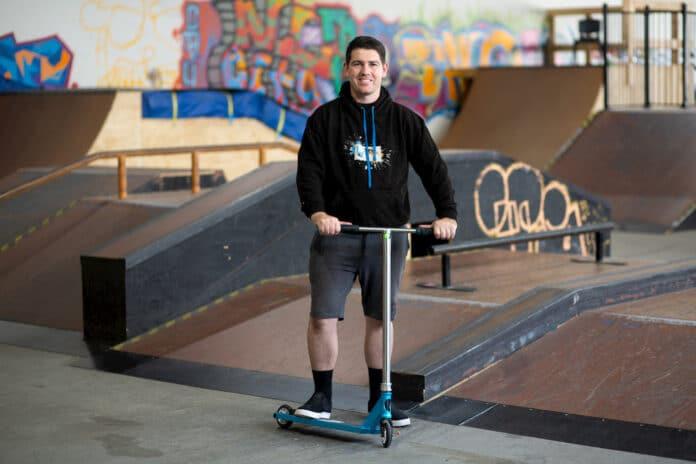 ChooseCBR business bank skatepark aaron gardner
