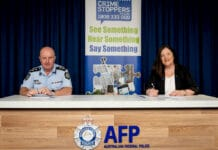 ACT Policing crime stoppers MOU