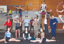 Warehouse Circus Interrobang cast