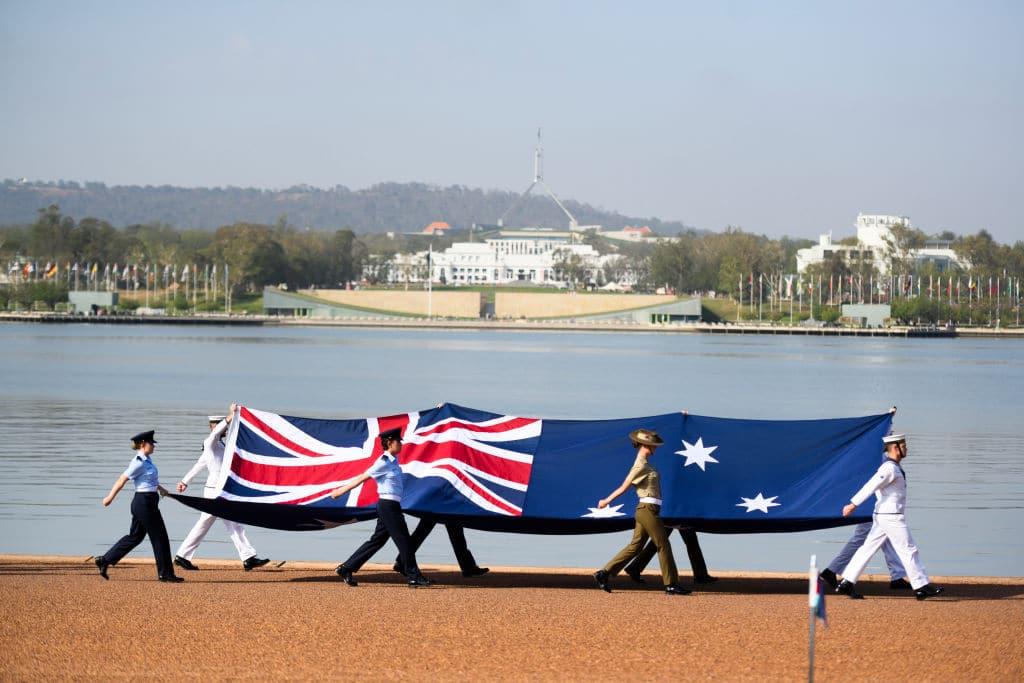 Australia day 2021 canberra