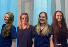 Four nurses from Canberra Hospital have raised over $15,000