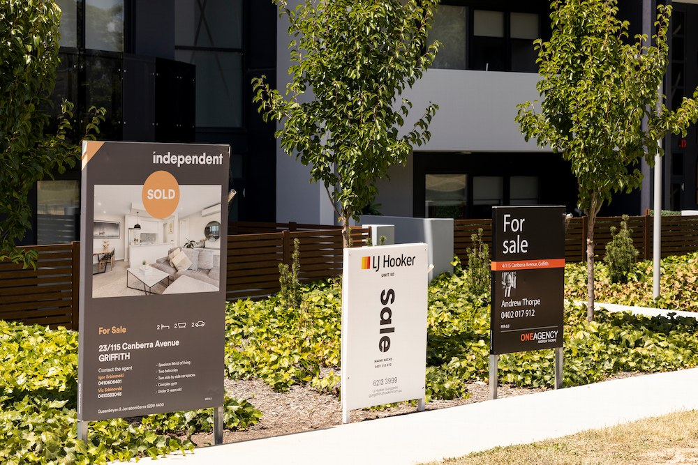 Canberra house prices hit a record high in the December quarter of 2020 with a 9.1% increase year-on-year.