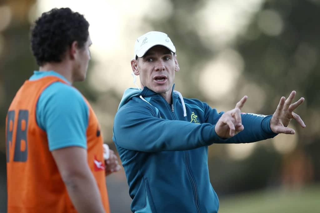 Nathan Grey coaching
