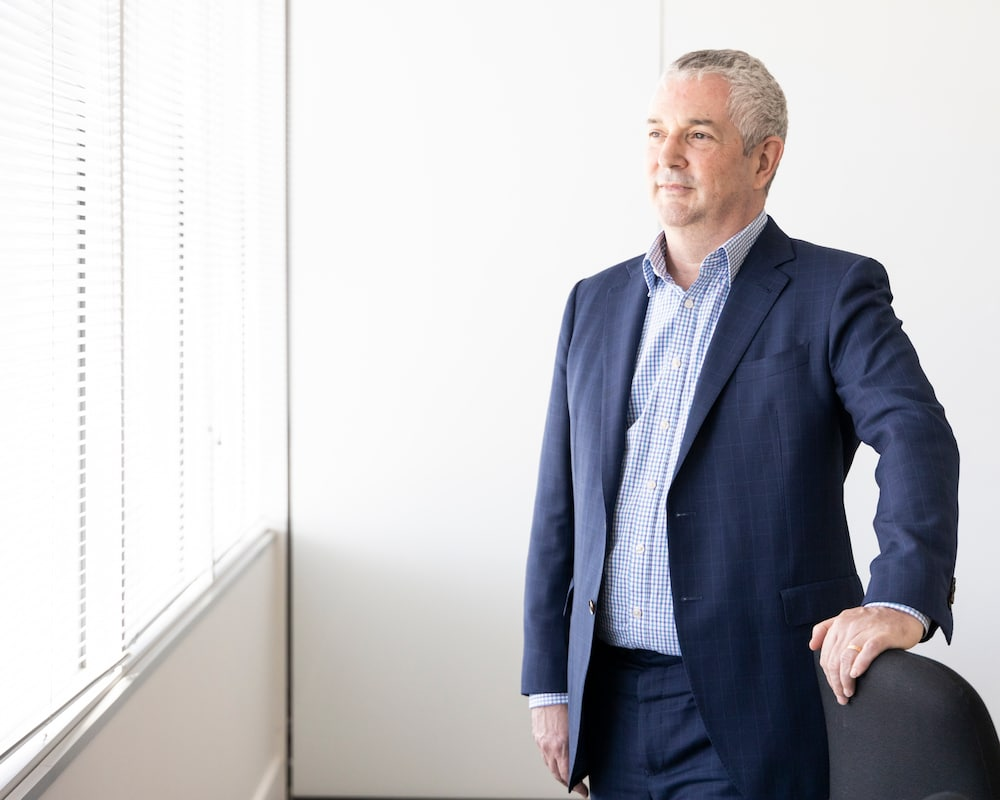 Canberra Business Chamber CEO Graham Catt who spoke out today about Canberra business closures.