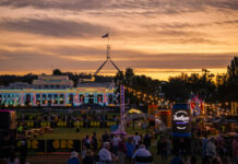 Whats on Canberra long weekend 6-8 March enlighten