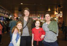 Izzy, Karla, Neave and Rebecca Grant