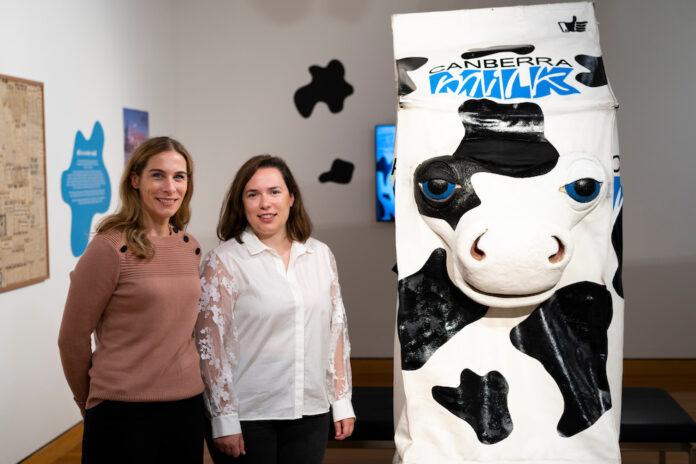 CMAG Canberra Milk exhibition