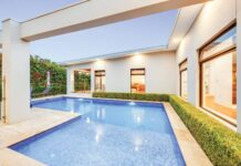 pool at home in Deakin