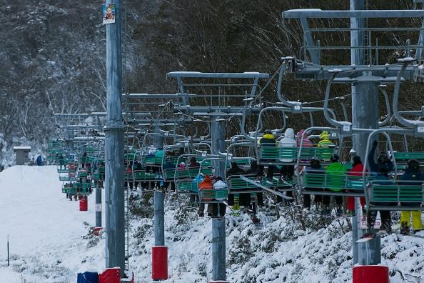Thredbo in ski season